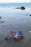 Sunglassses shades end of season Royalty Free Stock Photo