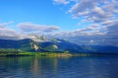 sunglow горы Стоковое фото RF