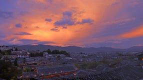Sunglow Fotografia de Stock