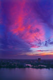 красивейшее sunglow стоковое фото rf
