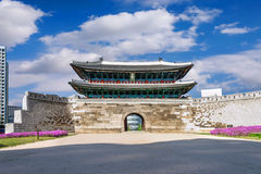 Sungnyemun gate Namdaemun Market in Seoul, South korea Royalty Free Stock Images