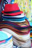 Sunhats Royalty Free Stock Photography