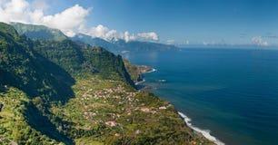 sunie Madeira północ Obraz Stock