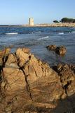 Sunie przy San Giovanni na wyspie Sardinia Obrazy Royalty Free