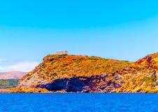 Sunio cape in Greece Royalty Free Stock Image