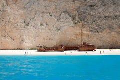Sunk ship Stock Photos