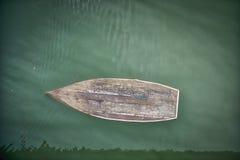 Sunken озеро Jablanicko Босния шлюпки Стоковое Изображение RF