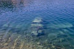 Sunken самолет Стоковое Фото