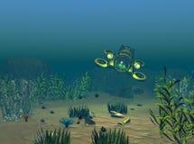 sunken сокровище Стоковая Фотография RF