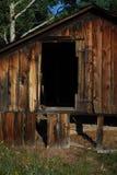 Sunken Barn Stock Photo
