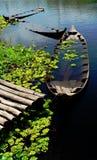 Sunken boats Royalty Free Stock Photo