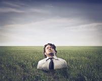 Sunken Business Stock Image