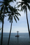 Sunken cemetery camiguin island philippines Royalty Free Stock Images