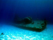 Sunken Destroyer MVP Tibbetts Stock Photo