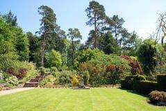 Sunken Garden Stock Photo