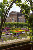 The Sunken Garden and Kensington Palace Stock Photo