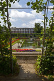 The Sunken Garden and Kensington Palace Royalty Free Stock Images