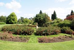 Sunken garden Stock Photography