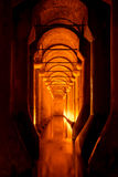 Sunken palace or Basilica Cistern Stock Images