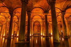 Sunken Palace in Istanbul, Turkey Royalty Free Stock Photo
