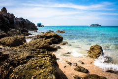 Sunken Rock Royalty Free Stock Image