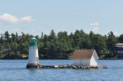 The Sunken Rock Lighthouse Stock Image
