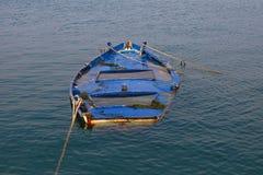 Sunken Rowboat Stock Photos