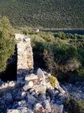 Sunken ruins of Simena Royalty Free Stock Photos