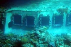 Sunken Ship Royalty Free Stock Photo