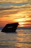 Sunken Ship Stock Photography