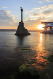 Sunken Ships Monument. Crimea. Sevastopol. Royalty Free Stock Photos