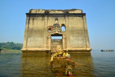 Sunken temple Royalty Free Stock Photography
