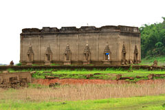 Sunken Temple, Sangkhlaburi Royalty Free Stock Photos