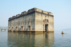 Sunken temple Royalty Free Stock Image