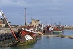 Sunken Trawler Royalty Free Stock Image
