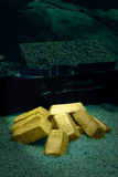 Sunken treasure Royalty Free Stock Images