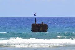 Sunken Wreck Stock Images