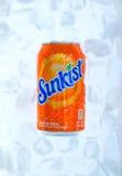 Sunkist drink Arkivfoto