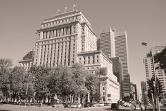 Sunlife building Royalty Free Stock Photo