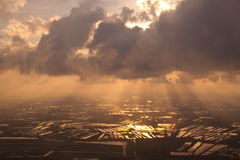 Sunlight. At Suwannabhumi Airport, Bangkok, Thailand Stock Image