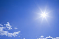 Sunlight. Midday sun. Plenty of copyspace Royalty Free Stock Photos