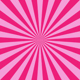 Sunlight abstract background. Bright pink color burst background. Vector illustration. Sun beam ray sunburst pattern background. Retro candy bright backdrop Stock Images