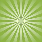 Sunlight abstract background. Green color burst background. Vector illustration. Sun beam ray sunburst pattern background. Retro bright backdrop. Watermelon Royalty Free Stock Photos
