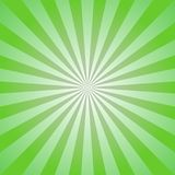 Sunlight abstract background. Green color burst background. Vector illustration. Sun beam ray sunburst pattern background. Retro bright backdrop. Watermelon Royalty Free Stock Photography