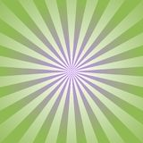 Sunlight abstract background. Green color burst background. Vector illustration. Sun beam ray sunburst pattern background. Retro bright backdrop. Watermelon royalty free illustration