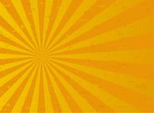 Sunlight abstract background. Orange and gold color burst background. Vector illustration. Sun beam ray sunburst pattern . Retro autumn backdrop royalty free illustration