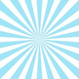Sunlight abstract background. Powder blue and white color burst background. Vector illustration. Sun. Beam ray sunburst pattern background. Retro bright Royalty Free Stock Photo