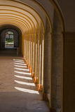Medieval cloister Royalty Free Stock Photos