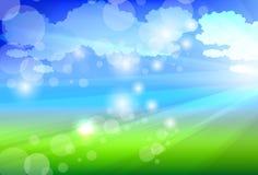 Sunlight background Stock Image