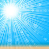 Sunlight background. royalty free illustration